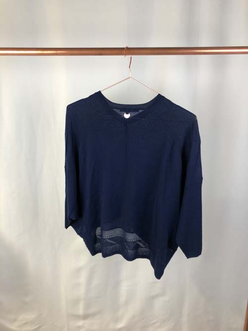 HIGH Sweater marineblau