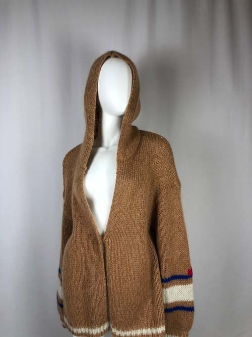 ME369 Strickjacke biskuit