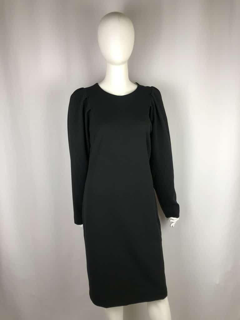 ANA ALCAZAR Kleid kurz schwarz