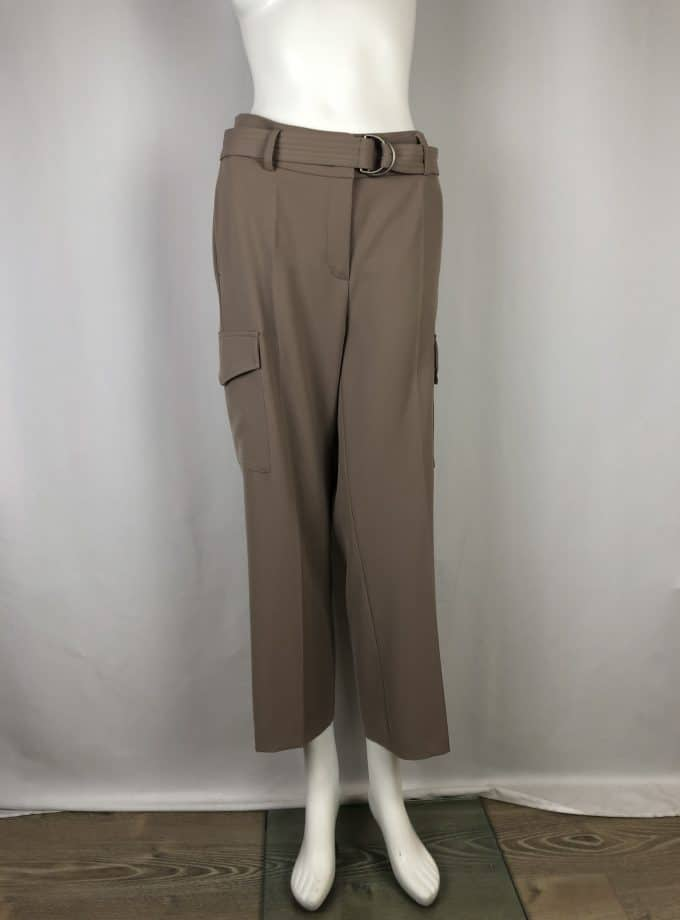 CAMBIO Stoffhose Claire taupe