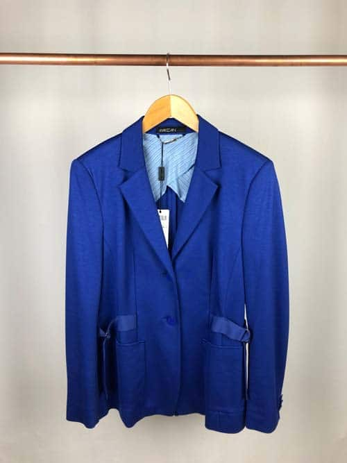 MARCCAIN Collections Blaser Jersey azur