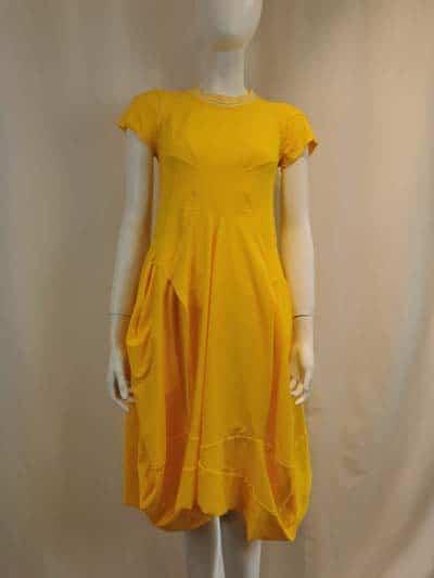 HIGH Kleid kurz Praise gelb