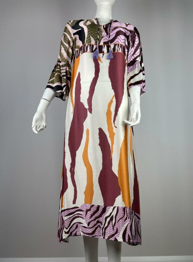 YIPPIE HIPPIE Kleid lang Mustermix