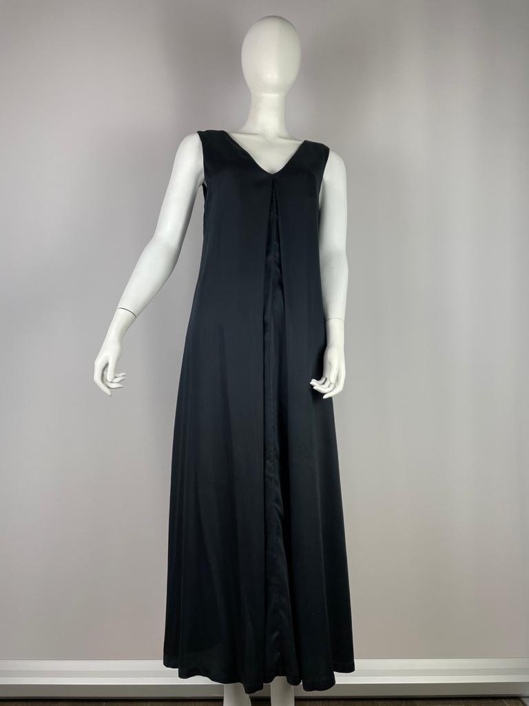NEU NOMADS Kleid lang ärmelos schwarz