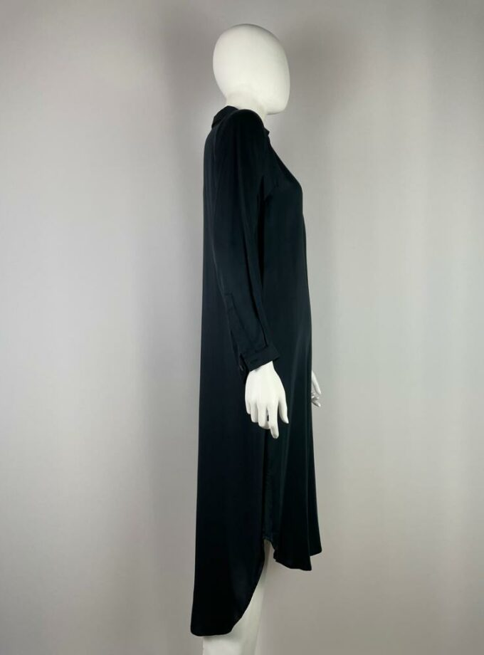 NEU NOMADS Hemdblusenkleid lang schwarz