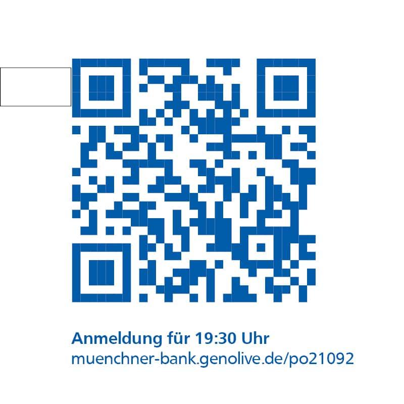 QR Code Anmeldung 19.30Uhr